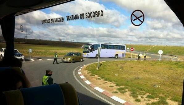 Huelga parcial e indefinida en el sector del transporte de viajeros por carretera a partir del 15 de mayo