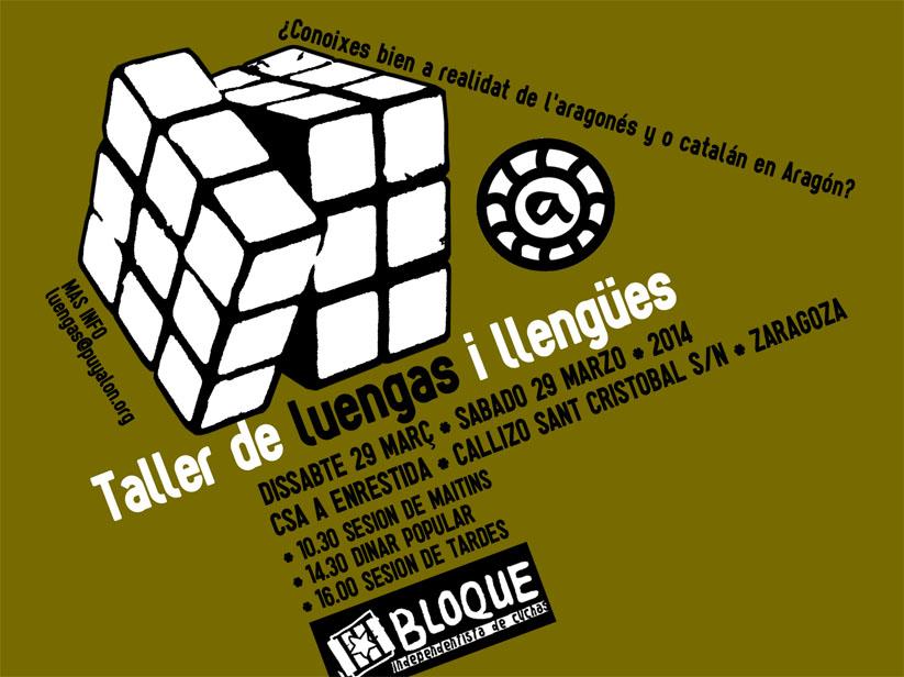 """O Bloque Independentista de Cuchas organiza o """"Taller de Luengas i Llengues"""""""