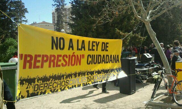 La Cincomarzada se reencuentra en Zaragoza con el Tío Jorge más combativo