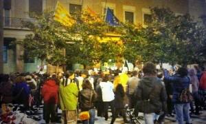 Imagen de archivo de una concentración en la DGA.