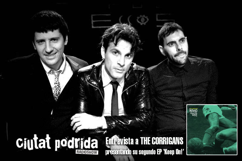 Ciutat Podrida entrevista a The Corrigans