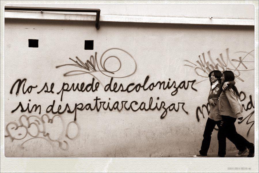 'No se puede descolonizar sin despatriarcalizar', nueva sesión de V de Violetta en La Pantera Rossa