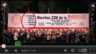 """Esfendemos as luengas"" denuncia a manca de sensibilidat y solidaridat con a luenga aragonesa por parti d'os organizadors d'a chornada d'o 22M"