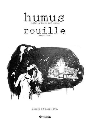 Arrebato se cita con el postrock de la mano de Humus y Rouille