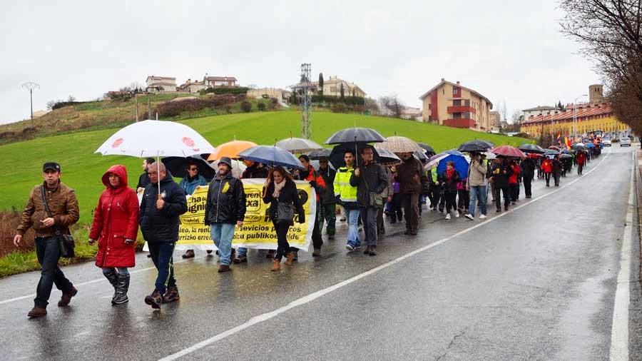 Primeros pasos de las Marchas por la Dignidad