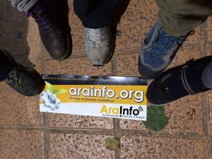 Dando pasos hacia la Soberanía de la Comunicación. Foto: AraInfo