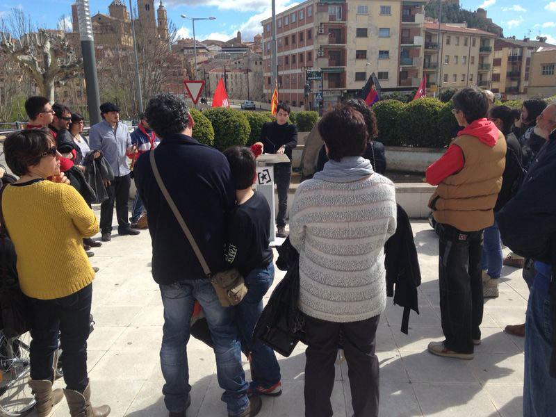 Emotivo homenaje en Alcanyiz a las víctimas del bombardeo fascista de 1938