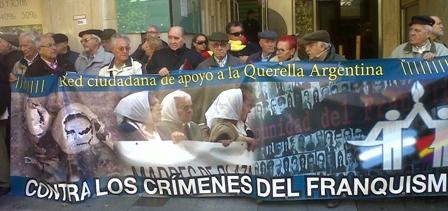Cinco ministros de Franco, denunciados ante la justicia argentina