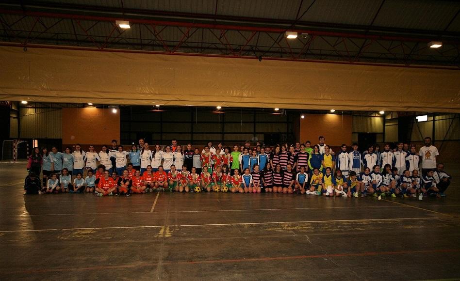 Fraga muestra el buen estado del fútbol sala femenino aragonés