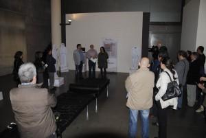 Imagen de la inauguración de la exposicón. Foto: CHA