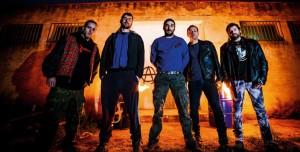 La banda de Leciñena (en la foto) presenta su primer trabajo 'Todo es ponerse' en un concierto organizado por la Coordinadora Antifascista en el CSO Kike Mur el próximo 26 de abril.