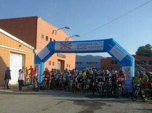 La prueba, que alcanzó los 305 participantes en la edición 2013, se disputará el domingo 4 de mayo. Foto: Club Ciclista Mequinensa