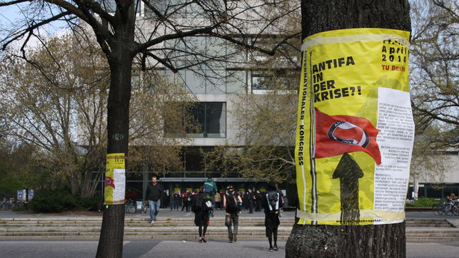 Antifascismo y crisis: congreso antifascista internacional en Berlín