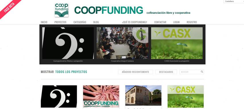 Nace CoopFunding, una plataforma de cofinanciación libre y cooperativa