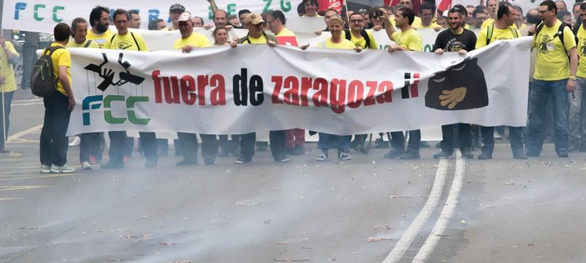 Solidaridad del comité de empresa de BSH Balay Cartuja con la plantilla de FCC Parques y Jardines