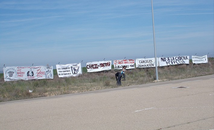 Se presenta este sábado la XV edición de la Marcha contra la Macrocárcel de Zuera