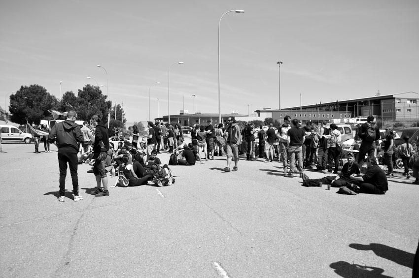 Llega la XVI Marcha Contra la Macrocárcel de Zuera