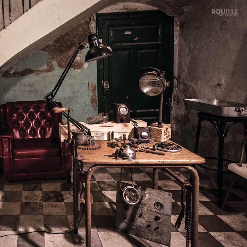 Adelanto audiovisual del primer trabajo de Rouille