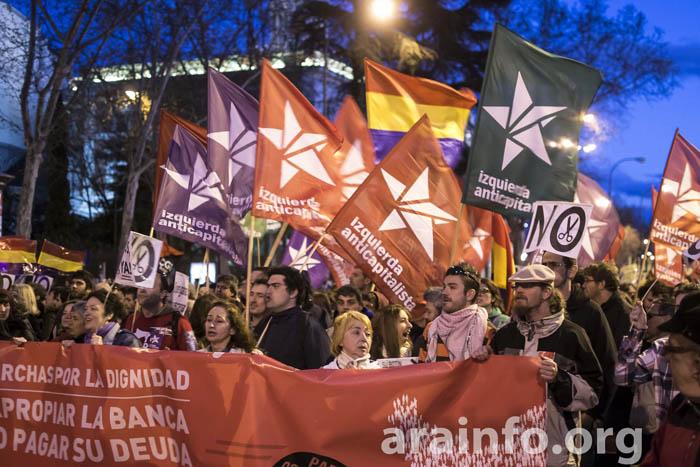 Declaración de Izquierda Anticapitalista: coyuntura y elecciones europeas