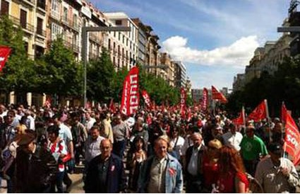 """OSTA, CCOO y UGT se movilizan este Primero de Mayo para """"demostrar que la salida de la crisis está aún lejos"""""""