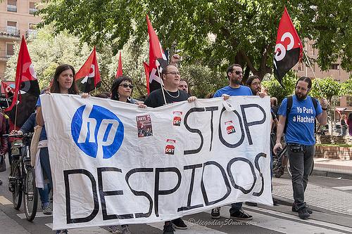 CGT en HP organiza en Zaragoza una «noche de terror»