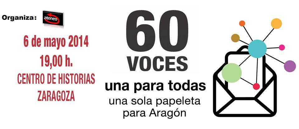 60 voces, una sola papeleta
