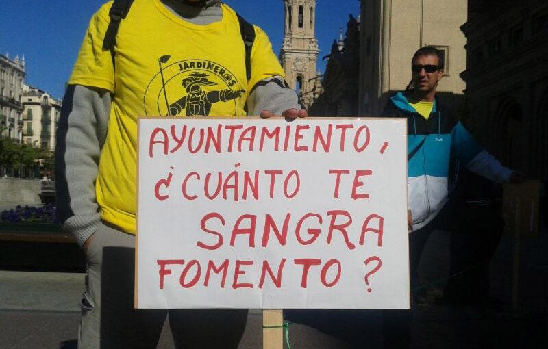 La plantilla de Parques y Jardines denuncia «injerencias» en el derecho de huelga por parte de la consejera Chueca y de FCC