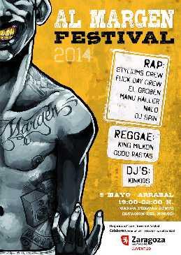 """Rap, reggae y dj's en o Rabal en """"Al Margen Festival"""""""