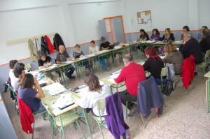 Imagen del encuentro de CGT Enseñanza.
