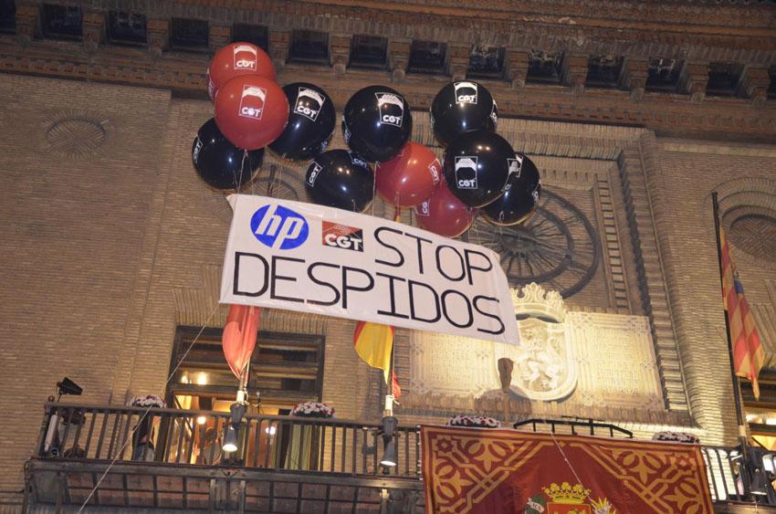 Las Cortes de Aragón piden el apoyo del Gobierno a los trabajadores de HP