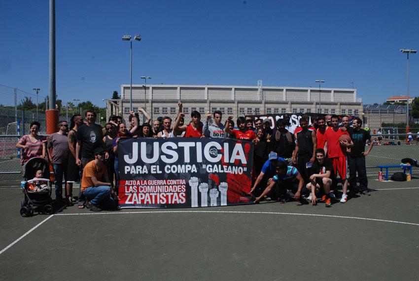 Zaragoza se concentrará en apoyo a las comunidades zapatistas en resistencia y solicitando justicia al compa Galeano