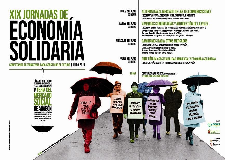 """XIX Jornadas de Economía Solidaria: """"Conectando alternativas para construir el futuro"""""""