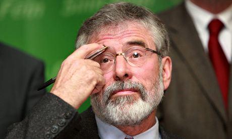 Gerry Adams sostiene que su detención es «un ataque al proceso de paz»