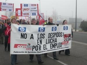 Foto: Comité de empresa de HP Zaragoza