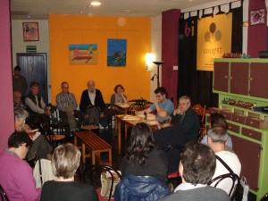 En 2015 se cumplen 10 años del nacimiento de Coop57 Aragón. En la imagen, primer encuentro de socias y socios en Aragón. Foto: Patricia Escartín