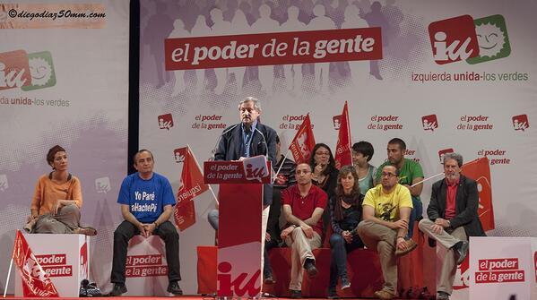 """Meyer: """"PP y PSOE han acordado en Europa todas las resoluciones que han llevado a que la gente tenga puesta una bota en el cuello"""""""