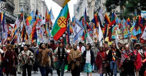 CGT se une a la campaña en defensa de la vida y la dignidad del Pueblo Mapuche