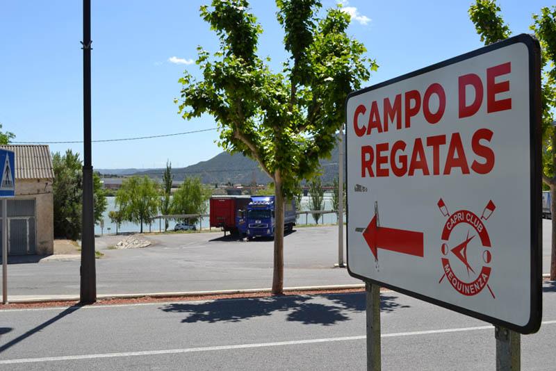 El Campeonato de Aragón de Remo se disputará el 7 de junio en el Campo de Regatas de Mequinensa