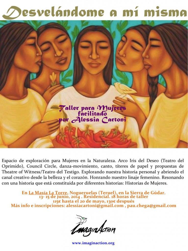 ImaginAction organiza 'Desvelándome a mí misma', un taller para mujeres en Nogueruelas