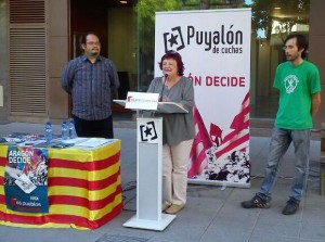Acto de Puyalón-Os Pueblos Deciden en Uesca.