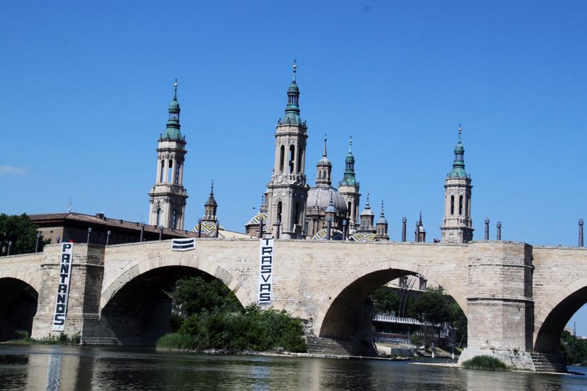 Puyalón-Os Pueblos Deciden denuncia «las políticas hidráulicas impuestas por Madrid»