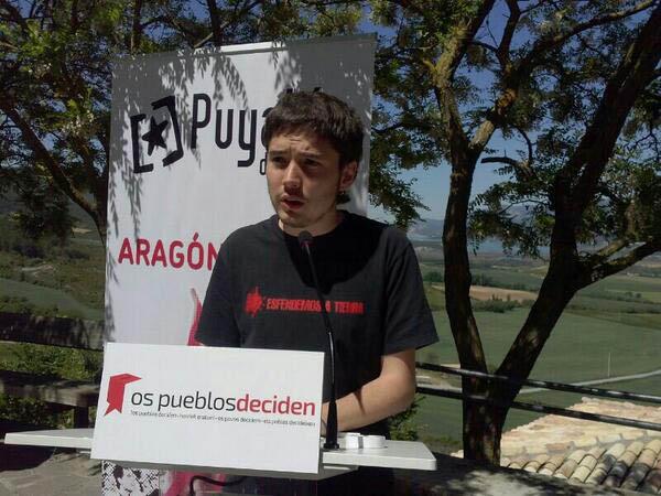 Puyalón se presenta a las estatales por las tres circunscripciones aragonesas en el pacto de Ahora Repúblicas