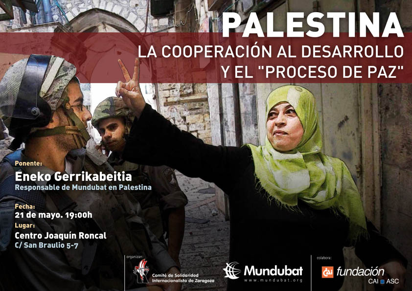 CSI organiza la charla 'Palestina: La cooperación al desarrollo y el Proceso de Paz'