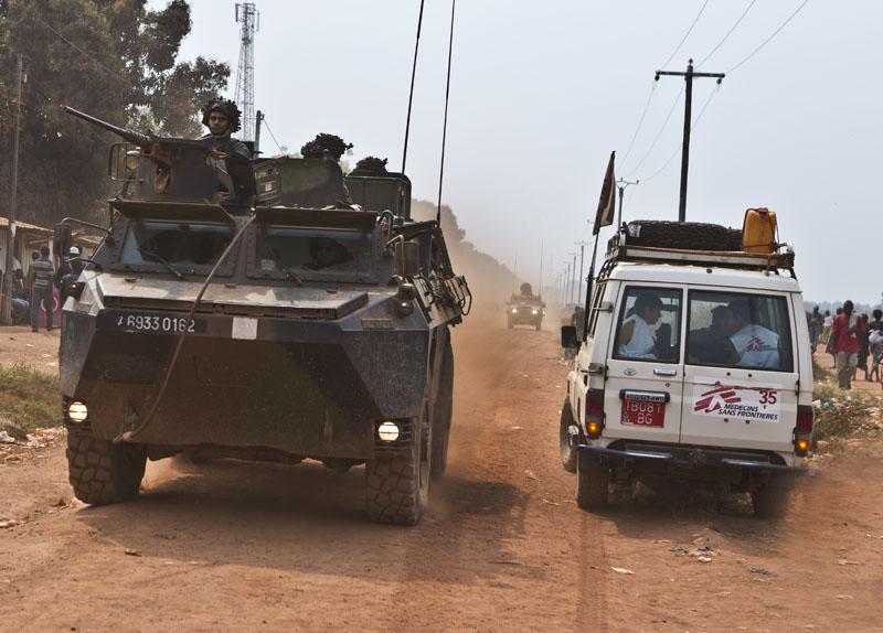 MSF reduce sus actividades durante una semana en la República Centroafricana en protesta por la masacre en Boguila