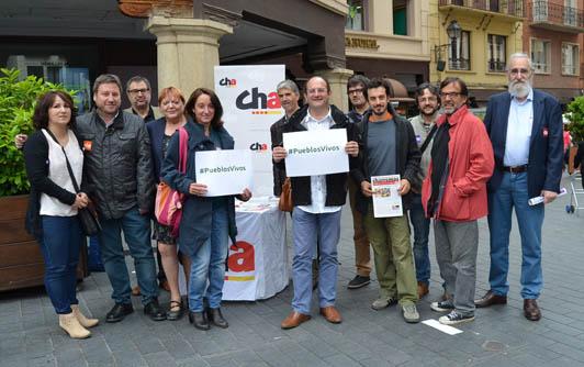 CHA reivindica el papel de Aragón como nación de Europa