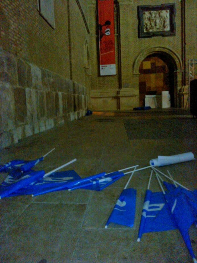 """Podemos Zaragoza: """"El PP realizó el acto de inicio de campaña en un lugar no previsto por la Junta Electoral"""""""