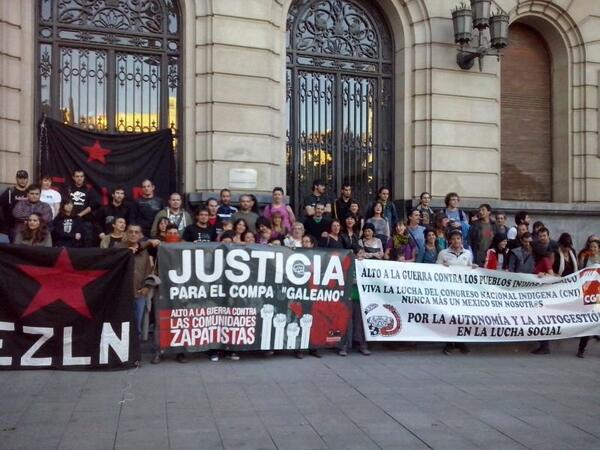 Un grito internacional de apoyo a las comunidades zapatistas
