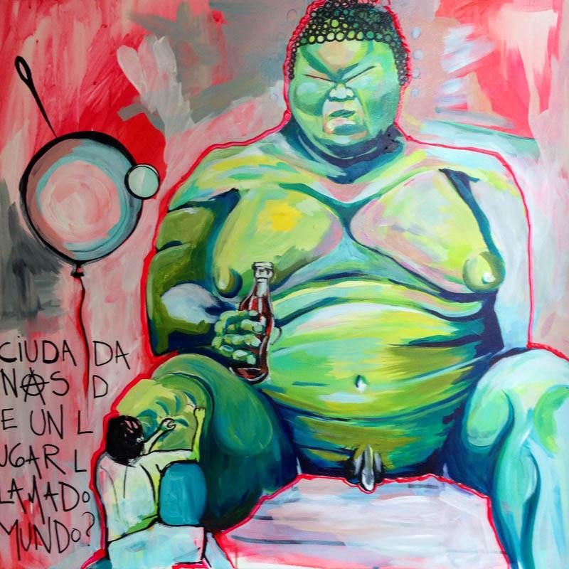 La Pantera Rossa inaugura la exposición 'Ventanas en los espejos' de María Romero Alvés