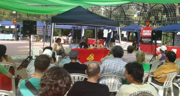 """El Partido Comunista de Aragón celebra su fiesta anual bajo el lema """"Somos la alternativa. Anticapitalismo y democracia"""""""