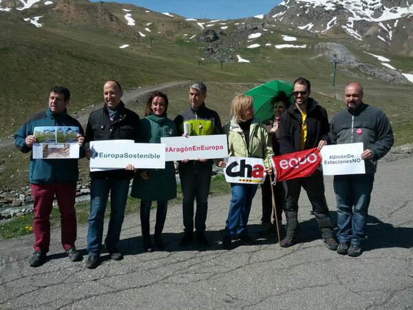 Primavera Europea reclamará en Europa la protección del patrimonio natural aragonés